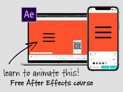 Free After Effects Course prototype product prototype animation video animatedgif animate animation uxui ux design uxdesign ux  ui ux motion design motiongraphics motion lottie after effects ae interface after effects animation aftereffects after effects