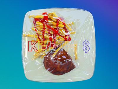 Kel - Thi$ spotify cover eletroni music realistic redshift3d beef plastic redshift potato food houdini