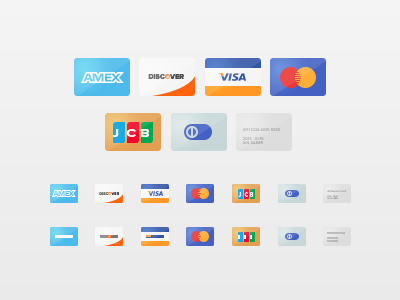 Freebie - Credit Cards icons cc credit cards minimal psd free