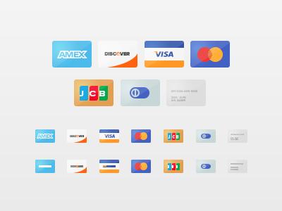 Freebie - Credit Cards icons cc credit cards minimal psd free