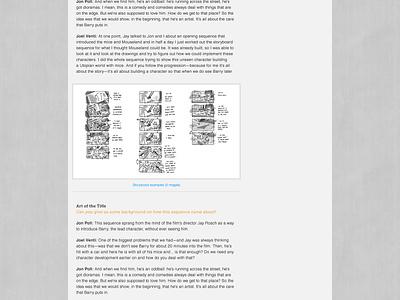 Art of the Title header navigation texture breadcrumb blog wordpress