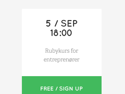 Mesh Calendar Event design website typography type green ui