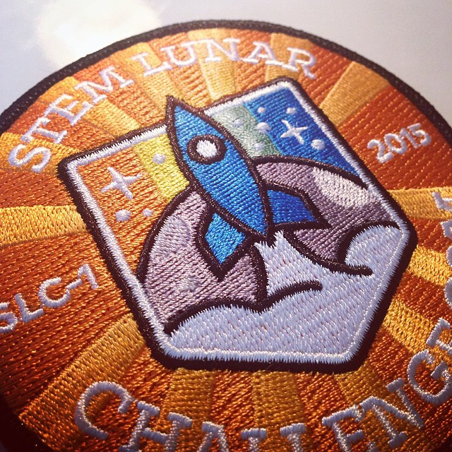 Patch for stem lunar challenge by roket  awesome