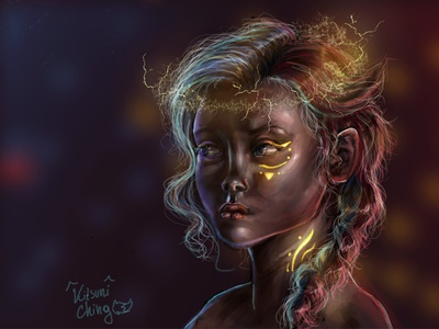 First Painting with Affinity Photo portrait affinityphoto drawing art draw illustration art illustration