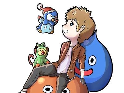 Crossover Dragon quest || Pokémon