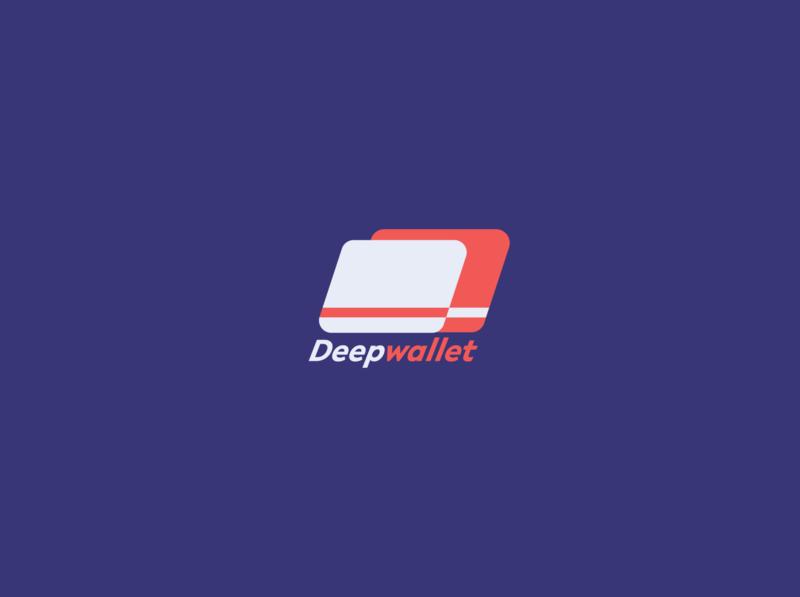 Deepwallet identitydesign branding uxui mobile app mobile ui logodesign