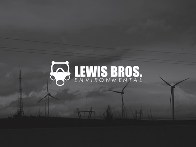 Lews Bros. Environmental | Logo minimal icon flat logo illustration design