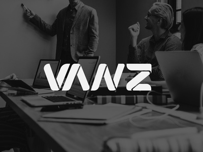 VANZ Digital | Logo typography minimal logo illustration design