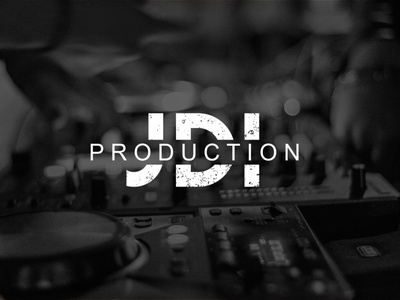 JDI Production | Logo typography minimal logo illustration design