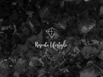 Roseate Lifestyle | Logo lettering vector illustrator branding typography icon logo illustration design
