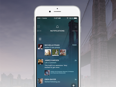 Forbes Mobile App Menu