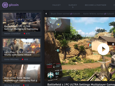 Gitcoin Surveys & Twitch Streams video gaming twitch