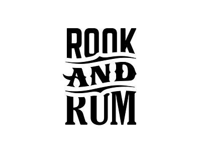 Rook & Rum simple wip logo