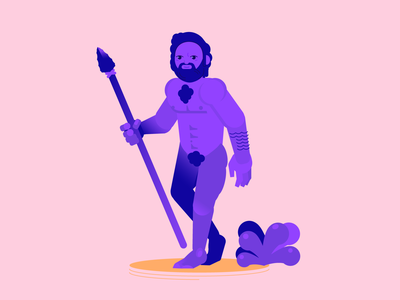 Homo Sapiens minimal character design concept art human body human vector illustration