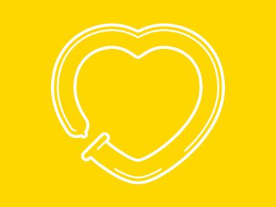 Love is... heart pickup lerston condom love