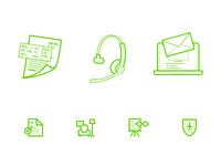 Homecredit + Aviata icons