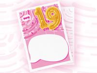 Birthday Postcard