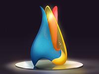 Glass Flame