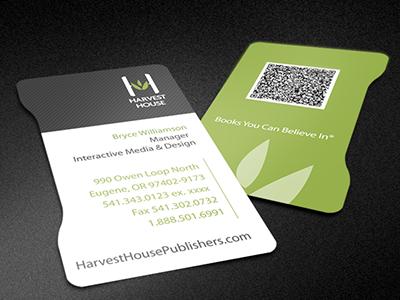 New logo business card
