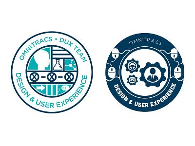 Department Logo WIP logo branding illustration icons seal mark dux ux ue ia