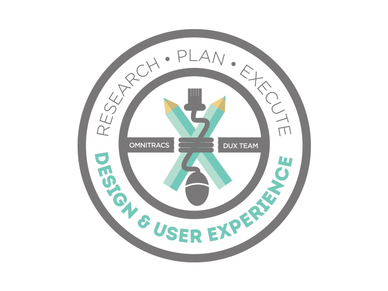 Department Logo WIP R2 logo branding illustration icons seal mark dux ux ue ia