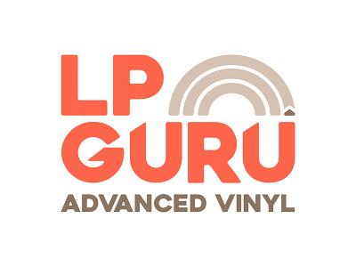 LP Guru Logo branding illustration logo