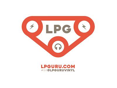LP Guru graphic  logo branding illustration