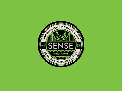 Sense Cannabis Badge