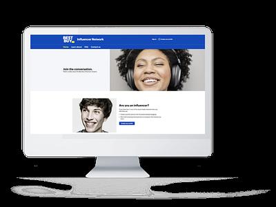 BestBuy Influencer Network ui webdesign webdevelopment ux uiux user experience branding website developer design