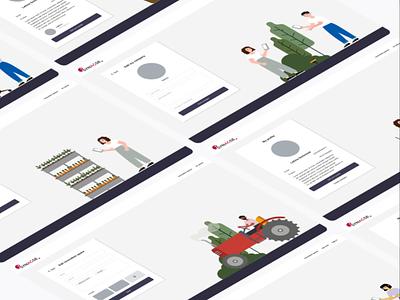 UI design for Synagse dailyui ux ui uiux branding identity illustration user experience website design
