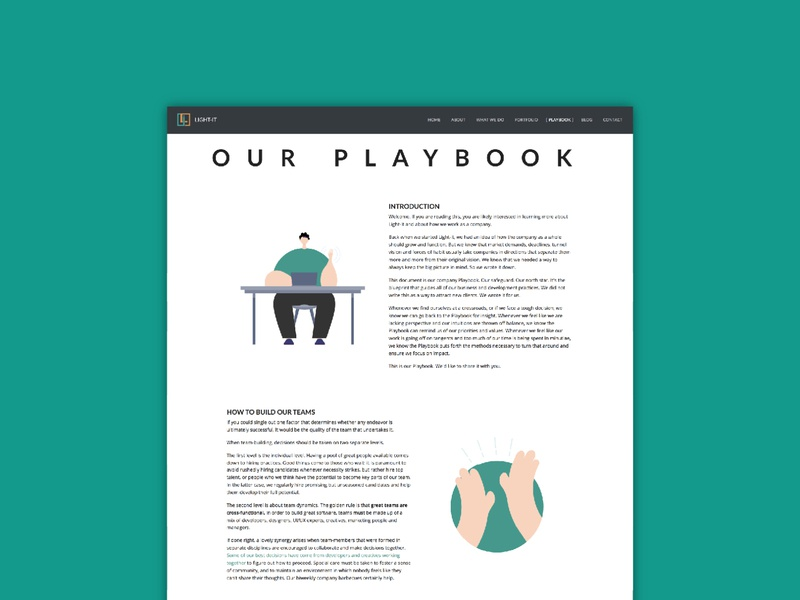 Playbook illustrations characterdesign character boy teamwork team playbook webdevelopment webdesign vector userinterface user experience ux uiux dailyui 002 website illustration developer dailyui design