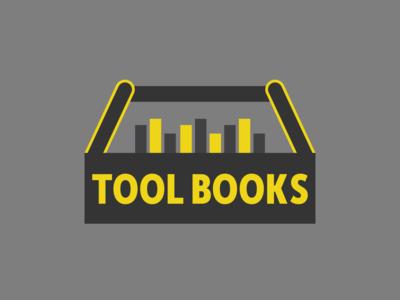 Tool Books Logo Concept 2 logo inspiration logo design book tool wordmark illustrative logo illustration logomark logo branding controid design controid