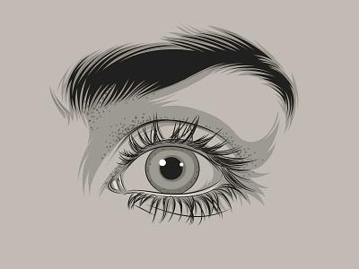 Eyes eyeballs eyes graphic eye logo vector illustration