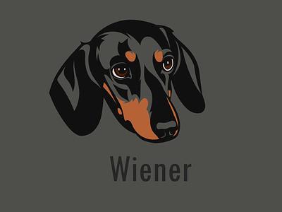 vector-art-dog portrait illustration art book mascot logo logo flat vector artwork wiener dog dog dog art vector portait portrait design illustration graphic