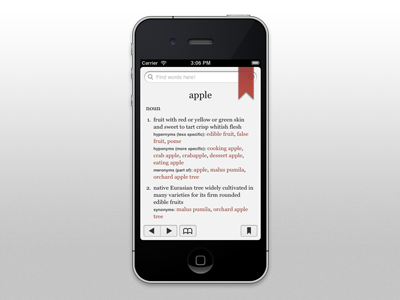 Blends for iPhone blends ios iphone dictionary
