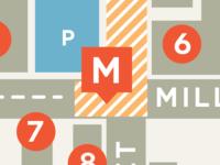 Midtown map detail