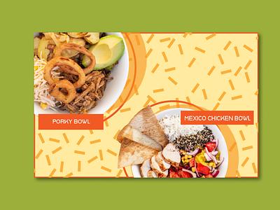 Puzzle Salads Autumn Campaign Promo graphic design