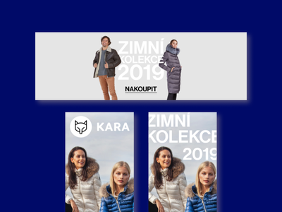 WINTER COLLECTION, online banners banner branding clothing