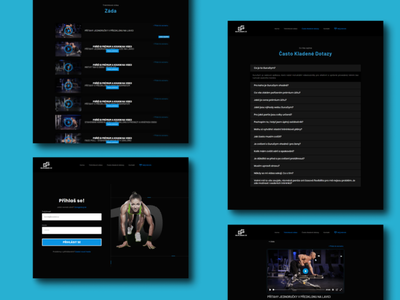 GuruGym, web-app ui ux web app