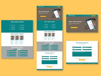 Website wireframe design web ux ui
