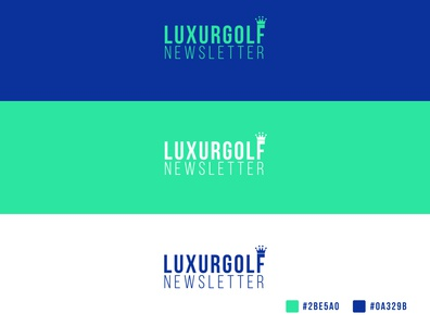 LuxurGolf Logo