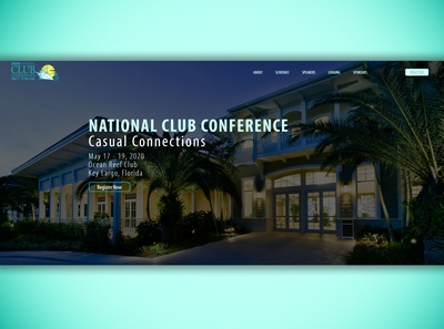 2020 National Club Conference Microsite