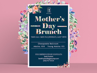 Mothers Day Event Poster Design