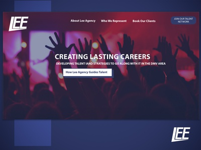 Lee Sports and Entertainment Static Landing Page