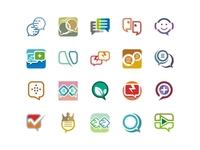 Chat Stock Logo