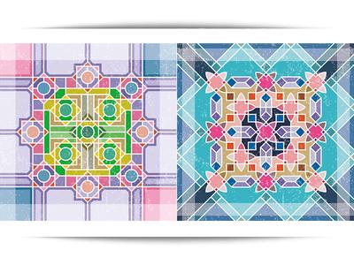 Vinyl Floor Tile Sticker #3 vinyl floor tile stiker pattern modern seamless ornament