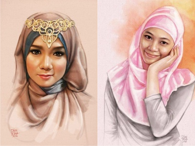 Done in Photoshop with a Mouse - 100% digital painting artwork art drawing photo potrait photoshop digital painting