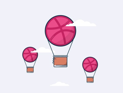 BALLOON HELLO DRIBBBLE