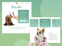 Daily UI // Dog Spa LP