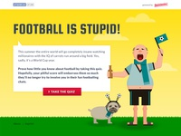 Football is stupid - Website